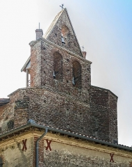 Eglise Saint-Sernin - English:  Church Saint-Sernin-des-Rais, Verfeil, France. Bell gable.