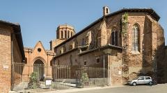 Porte Vauraise - English:  Verfeil, Haute-Garonne, France  - Church Saint Blaise