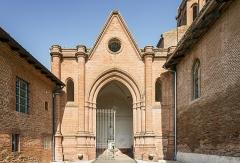 Porte Vauraise - Deutsch:  Portal der Kirche Saint-Blaise in Verfeil (Haute-Garonne)