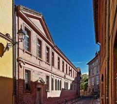 Ancien palais archiépiscopal - English:  No. 3-9 Rue Saint-Jacques, in Toulouse - Former Archiepiscopal Palace of Toulouse