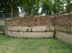 Rempart gallo-romain - English: City wall, 1st century. Toulouse (France)