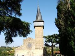 Eglise -  Collégiale Saint Jean-Baptiste de Barran dans le Gers (France)