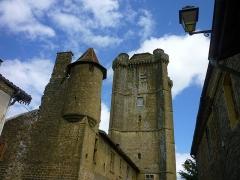 Ancien château - Français:   Point de vue de l\'ancien château de Bassoues