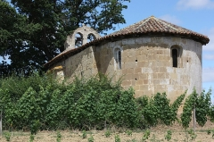 Eglise d'Auban - Français:   Castelnavet - Eglise d\'Auban - 1