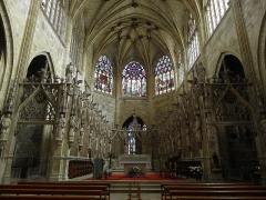 Ancienne cathédrale, actuellement église Saint-Pierre - Clôture du chœur de la cathédrale Saint-Pierre de Condom (32).