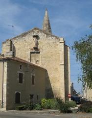 Ancienne église Saint-Barthélémy du Pradau - English: South-east facing view of Église Saint-Barthélémy du Pradau in Condom, Gers, France