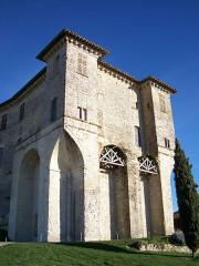 Ensemble des bâtiments du château - English: Lavardens Castle, Gers, France