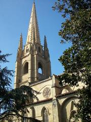 Eglise - English: Marciac Church, Gers, France