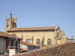 Eglise Notre-Dame - English: St. Mary's Cathedral, Mirande, Gers, France