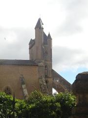 Eglise Notre-Dame - L'église Sainte-Marie de Mirande.