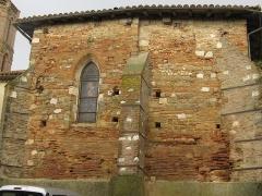 Eglise - English:   Église de Puycasquier - old side of church