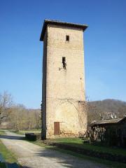 Tour de l'Horloge - English: Mirande Tower, Tillac, Gers, France