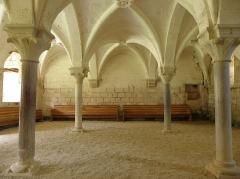Ancienne abbaye de Flaran - Salle capitulaire de l'Abbaye de Flaran (32).