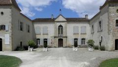 Ancienne abbaye de Flaran - Abbaye de Flaran, commune de Valence-sur-Baïse (32). Logis abbatial.