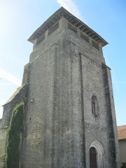 Eglise - English: Picture of church Saint Martin of Anglars in Lot, France.