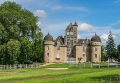 Château - English: Castle of Aynac, Lot, France