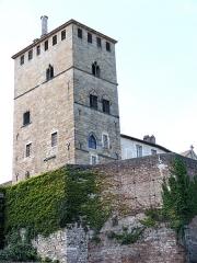 Ancien palais de Via connu sous l'appellation Château du Roi, actuelle prison d'Etat - Français:   Cahors - Tour du château du Roi