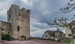 Fortifications - English: Keep – fortifications of Capdenac, Lot, France
