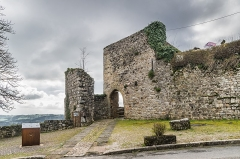 Fortifications - English: Porte Comtale – fortifications of Capdenac, Lot, France
