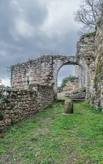 Fortifications - English: Porte Narbonnaise – fortifications of Capdenac, Lot, France