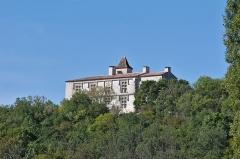 Château et son moulin à vent -  Chateau de Cieurac - 20140922