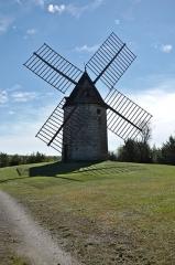 Château et son moulin à vent -  Moulin de Cieurac - 20140922