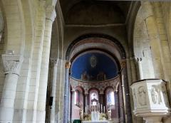 Eglise - Église Saint-Hilarion de Duravel (Classé Inscrit) Nef et abside