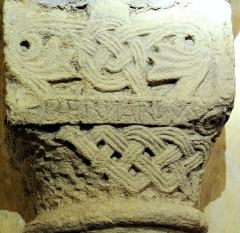 Eglise - Église Saint-Hilarion de Duravel (Classé Inscrit) Crypte du XIème siècle - Inscription