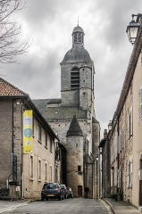 Eglise Notre-Dame-du-Puy - English: Notre-Dame-du-Puy church of Figeac, Lot, France