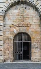 Eglise Saint-Sauveur - English: Western portal of the Saint Saviour church of Figeac, Lot, France