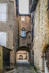 Hôtel de Laporte - English: Hôtel de Laporte in Figeac, Lot, France