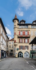 Maison Sisteron - English: Maison Sisteron in Figeac, Lot, France