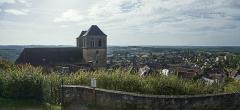 Eglise Saint-Pierre - English:  Gourdon, Lot. Town and St.Pierre Chuch.