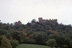 Eglise du château de Castelnau-de-Bretenoux - English:  Site of Castle of Castelnau-Bretenoux.