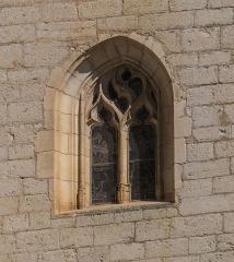 Chapelle Notre-Dame ou Miraculeuse ou de la Vierge - Français:   La fenêtre de Chapelle Notre-Dame de Rocamadour, Lot, France