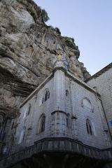 Chapelle Notre-Dame ou Miraculeuse ou de la Vierge - Français:   Chapelle Notre-Dame de Rocamadour.