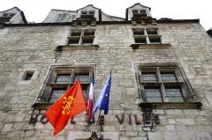 Immeuble dit Maison Mazot - Français:   Rocamadour, Lot, France - hôtel de ville.