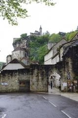 Porte dite du Figuier - Français:   Rocamadour, Lot, France - porte du Figuier.