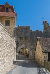 Porte dite du Fond du Coustalou ou du Fond de la Ville - English:   Porte Basse in Rocamadour, Lot, France