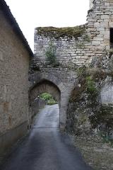Porte dite de la Mercerie - Français:   Porte de la Mercerie à Rocamadour.