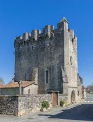 Eglise Saint-Martial - English: Saint Martial Church of Rudelle, Lot, France