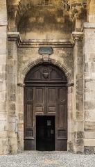 Eglise et sa crypte de Sainte-Spérie - English: Portal of the Saint Spérie Church of Saint-Céré, Lot, France