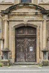 Eglise des Récollets - English: Portal of the Recollects Church of Saint-Céré, Lot, France
