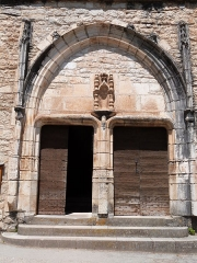 Eglise - Église Saint-Cirq de Saint-Cirq-Lapopie (Classé)