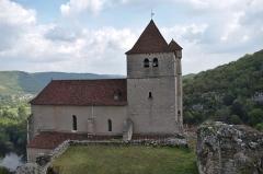 Eglise -  Eglise de Saint-Cirq-Lapopie - 20140925