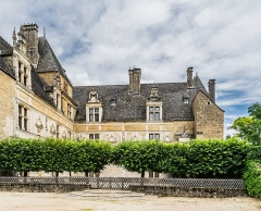 Domaine de Montal (également sur commune de Saint-Céré) - English: Castle of Montal in Saint-Jean-Lespinasse, Lot, France