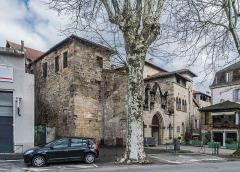 Hôtel de Balène ou Château Balène - English: Hôtel de Balène at 8 Quai Albert Bessières in Figeac, Lot, France