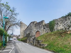 Remparts de la ville - English: Remparts of Figeac, Lot, France
