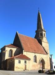 Eglise - Église de la Nativité-de-la-Sainte-Vierge d'Auriébat (Hautes-Pyrénées)