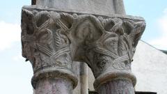 Ancienne église Saint-Jean - Français:   Église Saint-Jean de Bagnères-de-Bigorre: Chapiteaux des colonnes